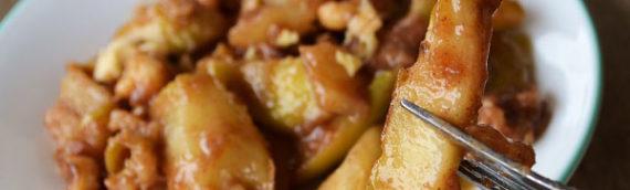 Baked Apple Cobbler